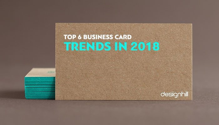 Business card design trends 2018 business card design trends 2018 reheart Image collections